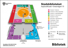 Karta Stadsbiblioteket
